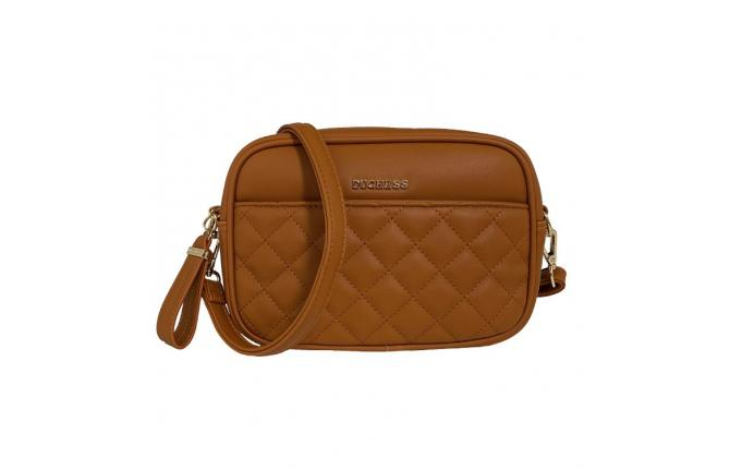 HAILEY CAMERA BAG - CARAMEL