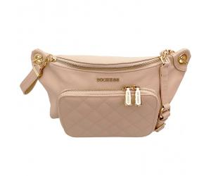 KATE WAIST BAG - NUDE PINK