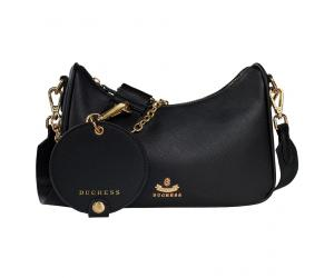 MONA HOBO BAG - BLACK